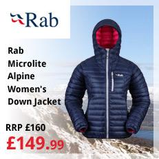 Rab Microlite Alpine Womens Down Jacket