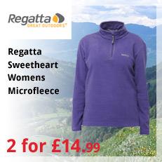 Regatta Sweetheart Womens Microfleece