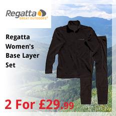 Regatta Womens Base Layer Set