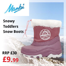 Snowy Toddlers Snow Boots